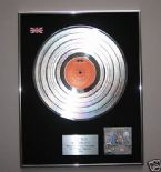 THE WHO - Who Are You PLATINUM LP Presentation Disc